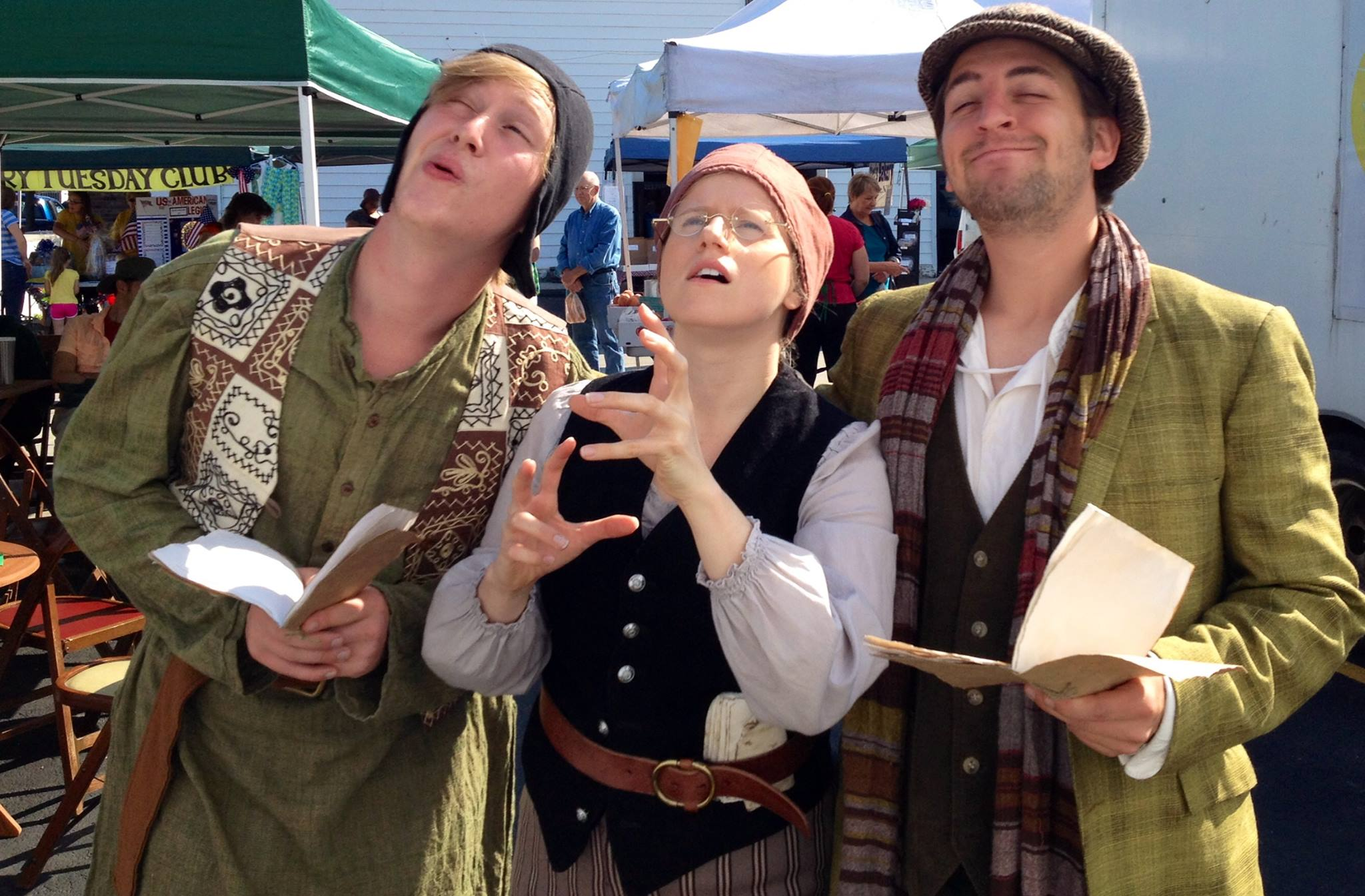 The Rude Mechanicals at the Farmers Market
